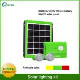 10w mini portable home solar panel kit for residential use