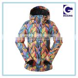 Ski jacket woman jacket ski colorful ski jackets China