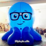 Customized Cartoons Inflatable Octopus for Shop and Event Decoration