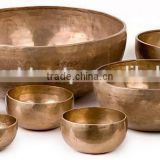 brass plated bowl set