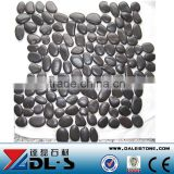 Natural Black River Pebbles Stone Mosaic Paver