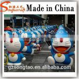 Guangzhou Life Size Rasin Doraemon Statue Molds for Sale