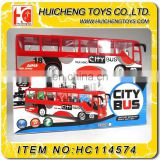 3D electric toy bus with LED light have EN71