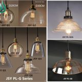 Vintage glass pendant lamp hanging light