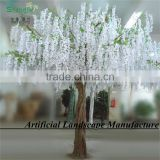 Hotsale Artificial White Wisteria Wedding Table Centerpiece Silk Cherry Blossom Tree