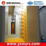 Powde coating machine for metal products