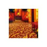 Permanent flame-retardant carpet