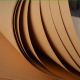 Eco friendly food grade b brown kraft  paper