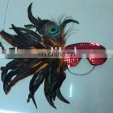 party carnival masquerade feather dance mask MPM-060