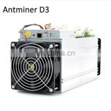 2017 Factory Stock Antminer D3 S9-14Th/s 22nm Bitcoin Miner S9 Ready for Shipping