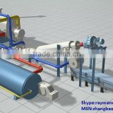 Old tyre recycling pyrolysis machine