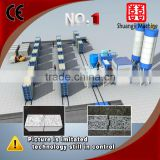 light weight anti extrusion anti impact prefab waterproof fireproof PLC control cement boards machine