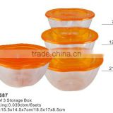 Promotional and Hot Sale Set of Apple Shape Storage Box TH-687