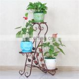Metal Flower Stand Home Decoration Iron Garden Flower Shelf