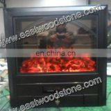 beautiful decor flame electric fireplace heater