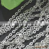 White Steel Cross O Chain Iron Link Chain For Jewelry Diy Different Size