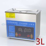 3L 120W digital ultrasonic cleaner Dental Digital Time Display ultrasonic cleaner