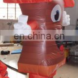 house shaped advertising inflatable moving costume