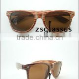 Cheap Fashion Sunglasses With Wood grain Style /eyewear /bulk buy sunglass