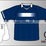 Wholesale 100% polyester soccer uniforms/custom mens soccer tracksuit