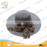 Wholesale lady wide brim sun hat uv visor protection hat with bowknot
