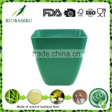 Degradable Affordable Trad bamboo fiber plant flower pot