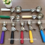 high quality ice cream scoop table ware /cc stainless ice cream scoop/fancy dining tableware