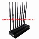 High Power WiFi GPS Cell Phone Jammer and UHF VHF Lojack Jammer