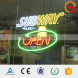 direct factory <b>interior</b>/exterior <b>neon</b> light word/<b>neon</b> lettering sign China