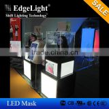 Red Led Light Therapy Skin Edgelight 2016 High Quality Skin Care Skin Rejuvenation PDT Led Light Therapy Red And Blue Led Mask 470nm Red