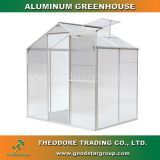 Good Star Group aluminum hobby greenhouse silver outdoor backyard garden portable greenhouse kits polycarbonate panels