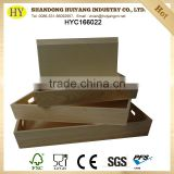 wholesale custom size and design LFGB pine wood serving tray