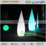 Modern portable plastic cordless color changing led floor lamp