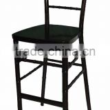 factory directly white modern wedding White Wood Bar Stools