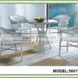 round rattan dining set /round rattan outdoor furniture/american style rattan furniture