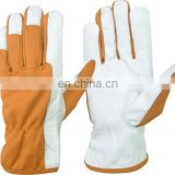 Cowhide suede Leather Gloves 707 working gloves/Cheap cow split leather gloves