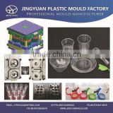 Plastic disposable table ware mold / Disposable thin wall transparent plate cup bowl & spoon mould