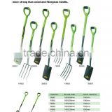 PAGE 2:FARM SHOVELS WITH STEEL TUBE PVC COATED HANDLE+TPR GRIP