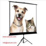 Tripod projector screen/Tripod screen/projection screen with matte white high gain