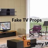 Fake Dummy decorate/LED TV Prop for furniture showroom decoration design art