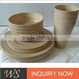 Eco-friendly Rice Husk Dinnerware Set