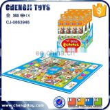 Indoor game play set chess carpet for kids board game mat