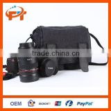 New Canvas SLR DSLR Camera Bag for Canon Nikon EOS 600D 60D 550D 7D 500D 1100D