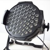 Hot new products for 2015 indoor 54*3W 3in1 led par light disco lights dmx led par 64 rgb