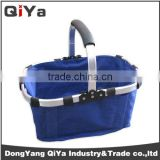 Wholesale Collapsible Folding Cardboard Picnic Baskets With Aluminium Frame For 6 Person