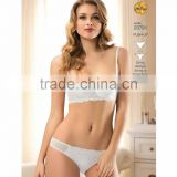 Stylish set woman underwear panties and bra made in turkey