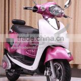 Hot Selling Lovely Pink Motor Scooter with hand brake