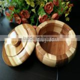 bamboo personalized ashtray for smoker
