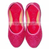 Pink Color Ladies Mojari