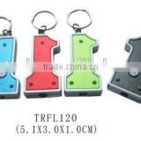 Promotional Number 1 shape Led keychain